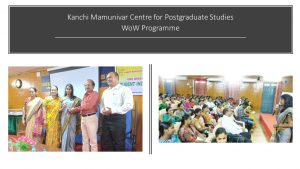 Student Induction Programme @ KMCPGS